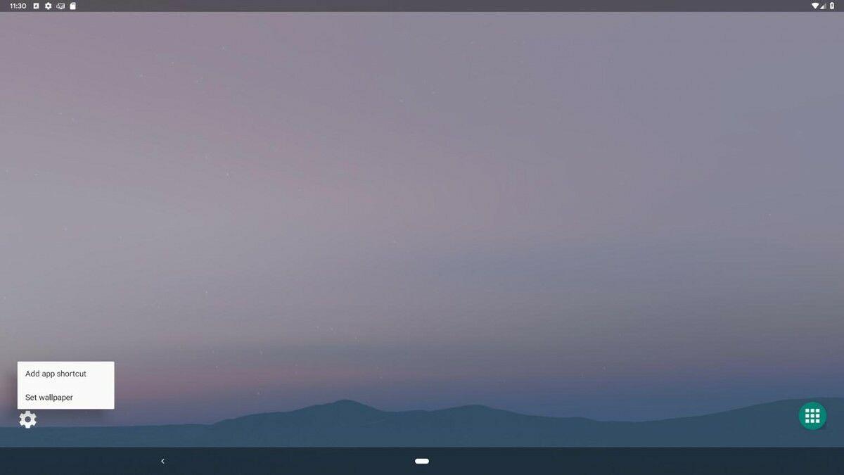 Android Q Asztali mód 1