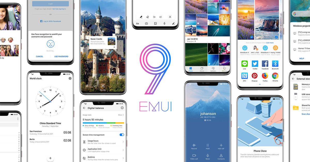 EMUI 9.0 - Android 9