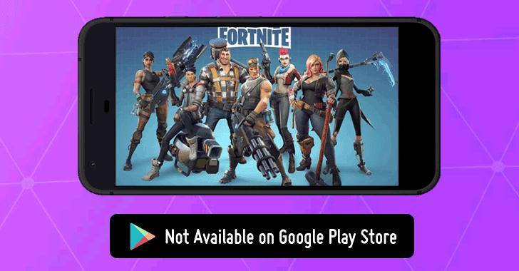 A Fortnite nem elérhető a Play Store-ból