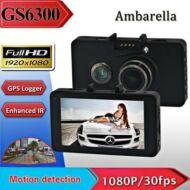 """Új! GS6300 Éjellátós 3"""" LCD képernyős 170 fok betekintési szögű autós kamera GPS-szel!"""