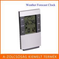 Új! Digitális LED naptáras, hő és páratartalommérő háttérvilágításos ébresztő óra!
