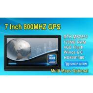 7 colos ATPowers FM DDR128MB 800*480  MTK MS2531 800MHZ Navitel 8.5 2014 magyar lokalizált GPS navigáció!