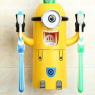 Minionos automata fogkrém adagoló fogkefe tartó - Egy szemű figura