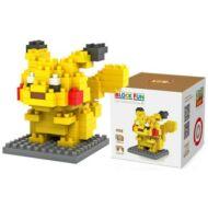 LOZ  M - 9136 Pokémon építőkocka 120db-os Intelligenciafejlesztő játék - Pikachu