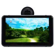 7 inch Autó GPS Navigáció Android 4.4.2 MTK8127 WIFI HD DVR felvevő -Szürke