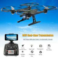JXD 510W 2.4G WIFI FPV 6 tengelyes RC drón - Fekete