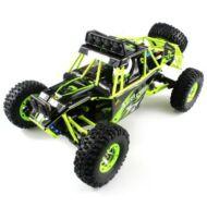 WLtoys No. 12428 RC 4WD versenyautó - Fekete és zöld
