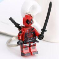 Lego Kulcstartó - Piros