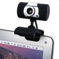 A847 USB 2.0 12 Megapixel HD Webkamera - Fekete
