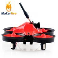 Makerfire MICRO Mini BNF drón - Piros