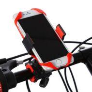 Biciklis telefontartó - Fekete
