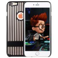 iPhone 6  / 6S kimélyített tok - Fekete