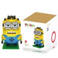 M - 9161 Minion építőkocka 260db-os Intelligenciafejlesztő játék