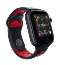 Z7 smart watch IP68 Vízálló Fitnessz és Sport Tevékenységmérő Vezetéknélküli Okos Karkötő - Piros
