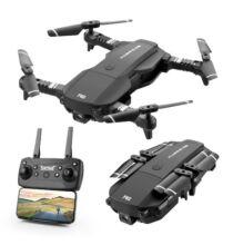 EU ECO Raktár - F62 2.4G WIFI FPV RC Quadcopter Drón 4K 16MP HD Kamerával - Fekete