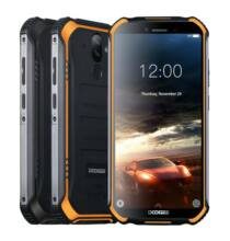 EU ECO Raktár - DOOGEE S40 Rugged Mobile Phone 5.5inch 4650mAh MT6739 Quad Core 3GB 32GB Android 9.0 8.0MP IP68 - Fekete