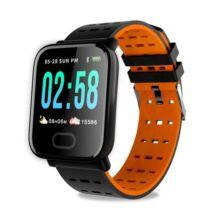 GONOKERA6 Okos Óra Vízálló Fitnesz Monitorozó - Narancssárga
