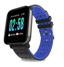 GONOKERA6 Okos Óra Vízálló Fitnesz Monitorozó - Kék
