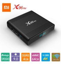 X96 Air Smart Android 9.0 TV Box - 4GB RAM 64GB ROM