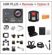 EU ECO Raktár - EKEN H9R Plus Ultra HD 4K A12 4k 30fps 1080p 60fps Vízálló WiFi Akció Kamera Távirányítóval - Fekete + 1 Akkumulátor + Táska + Monopod + Fej És Nyakpánt + 32 GB Memóriakártya