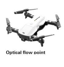 EU ECO Raktár - F62 2.4G WIFI FPV RC Quadcopter Drón 4K 16MP HD Kamerával - Fehér