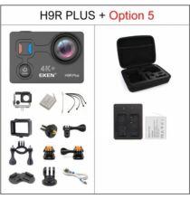 EU ECO Raktár - EKEN H9R Plus Ultra HD 4K A12 4k 30fps 1080p 60fps Vízálló WiFi Akció Kamera - Fekete + 1 Akkumulátor + Táska