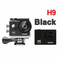 EU ECO Raktár - EKEN H9R H9 Ultra HD 4K 25fps Vízálló Akció Kamera - Fekete + 1 Akkumulátor + Táska + Monopod + Nyak És Fejpánt + 32GB Memóriakártya