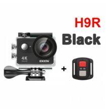 EU ECO Raktár - EKEN H9R Ultra HD 4K 25fps Vízálló Akció Kamera - Fekete + 1 Akkumulátor + 32GB Memóriakártya + Monopod + Nyak És Fejpánt