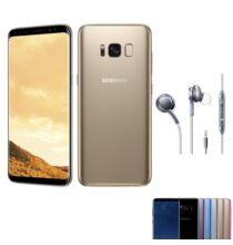 EU ECO Raktár - Samsung Galaxy S8+ 4GB RAM 64GB ROM 6.2 inches Android 7.0 Octa-core 4x2.35 GHz 3500mAh -Arany