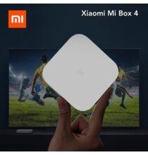 EU ECO Raktár -  Xiaomi TV Box 4 4K HDR Android 8.1 Ultra HD 2WIFI Google Cast Netflix IPTV 2GB RAM 8GB ROM - Fekete