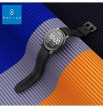 Xiaomi Haylou Solar Smart Watch 12 Sport Okos Karkötő - Fekete