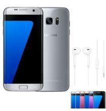 EU ECO Raktár - Samsung Galaxy S7 edge 4GB RAM 32GB ROM 5.5 inches Android 6.0 Octa-core 4x2.3 GHz 3600mAh - Ezüst