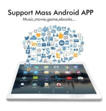 EU ECO Raktár - ANRY Android 10 inch 3G Táblagép 1GB 16GB Tablet 10.1 Pc Dual SIM Card WiFi Bluetooth - Ezüst