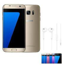 EU ECO Raktár - Samsung Galaxy S7 edge 4GB RAM 32GB ROM 5.5 inches Android 6.0 Octa-core 4x2.3 GHz 3600mAh - Arany