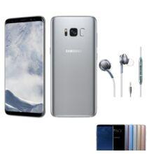 EU ECO Raktár - Samsung Galaxy S8+ 4GB RAM 64GB ROM 6.2 inches Android 7.0 Octa-core 4x2.35 GHz 3500mAh - Ezüst