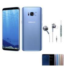 EU ECO Raktár - Samsung Galaxy S8+ 4GB RAM 64GB ROM 6.2 inches Android 7.0 Octa-core 4x2.35 GHz 3500mAh - Kék