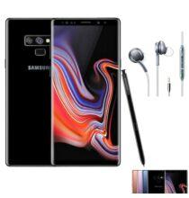 EU ECO Raktár - Samsung Galaxy Note 9 6GB RAM 128GB ROM Dual SIM 6.4 inches Android 8.1 Octa-core 4x2.8 GHz 40000mAh 4G Okostelefon - Fekete