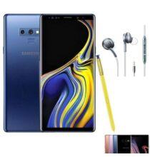 EU ECO Raktár - Samsung Galaxy Note 9 6GB RAM 128GB ROM Dual SIM 6.4 inches Android 8.1 Octa-core 4x2.8 GHz 40000mAh 4G Okostelefon - Kék
