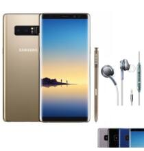 EU ECO Raktár - Samsung Galaxy Note8 6GB RAM + 64GB ROM 6.3 inches Android 7.1.1 Octa-core 4x2.3 GHz 3300mAh Battery 4G Okostelefon - Arany