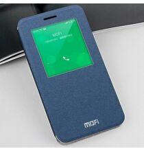 Mofi Meizu MX4 műbőr ablakos tok - Kék