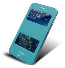 Mofi HTC Desire 820 műbőr ablakos tok - Kék