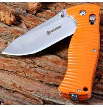Ganzo G720 440C Rozsdamentes acél pengéjű zsebkés - Narancs