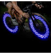 A08 LED bicikli szelepsapka világítás - Kék