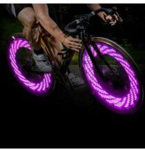 A08 LED bicikli szelepsapka világítás - Pink