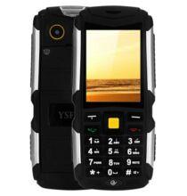 YSFEN M12 2.4 Kártyafüggetlen 3 SIM Strapabíró GSM Mobiltelefon