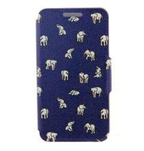 Huawei P6 indiai elefánt mintás tok - Szines