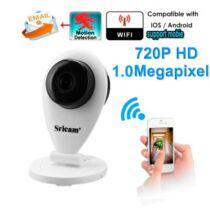 Sricam SP009 WiFi IP kamera - UK Plug - Fehér