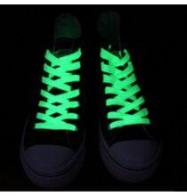 Világító cipőfűző 80cm - Zöld