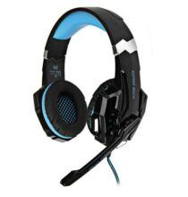 KOTION EACH G9000 3.5mm gamer headset - Kék