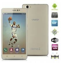 EU Raktár - UHAPPY UP580 3G okostelefon (EU2) - EU csatlakozó, Arany